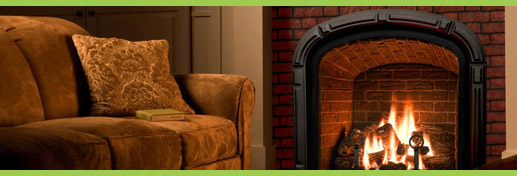 aba kandalló az otthoni tűzhely melege